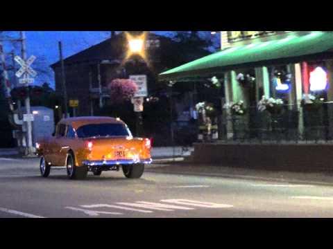 55 Chevy Gasser heads home