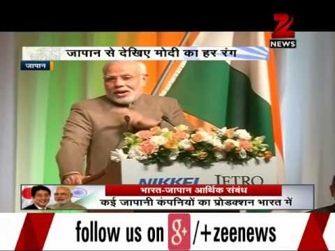 Watch: Different shades of PM Modi in Japan 02 September 2014 11 PM