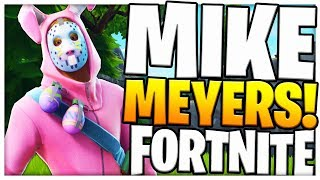 *UPDATE* NEW MIKE MYERS FORTNITE BATTLE ROYALE (Hide & Seek Playground Mode)