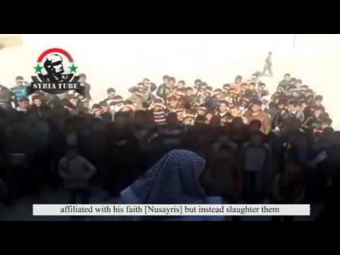 Video from Syria reveals Sheikh instigating school children to murder Christians