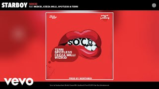Video StarBoy - Soco (Audio) ft. Wizkid, Ceeza Milli, Spotless, Terri MP3, 3GP, MP4, WEBM, AVI, FLV Mei 2018