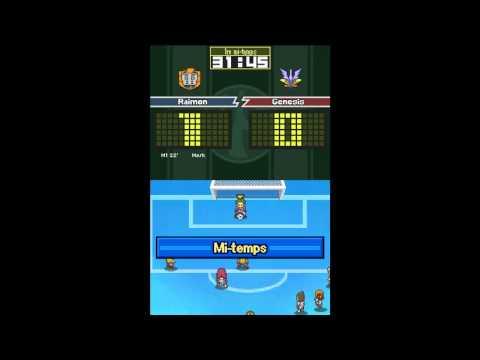 40) Inazuma Eleven 2 : Tempête de Glace - Match contre Genesis