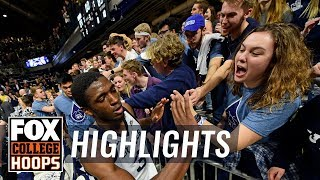 Kamar Baldwin drops 29 in 2nd half and OT, Butler holds on | FOX COLLEGE HOOPS HIGHLIGHTS by FOX Sports