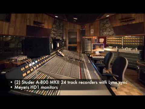 Fantasy Studios Studio D Tour - Bay Area Recording Studio