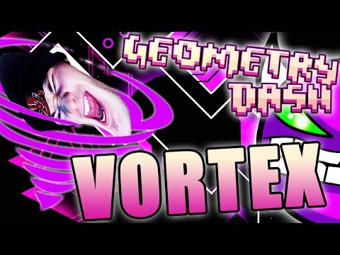 Geometry Dash | VORTEX by AlbinoMaster ~ THIS LEVEL WANTS TO KILL ME! (видео)