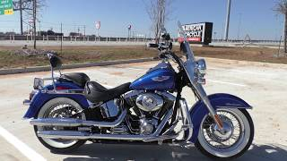 3. 036004   2010 Harley Davidson Softail Deluxe   FLSTN - Used motorcycles for sale