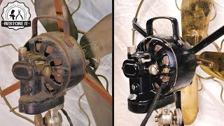 Video Antique 1920's Marelli Table Fan - [Restoration] MP3, 3GP, MP4, WEBM, AVI, FLV Februari 2019