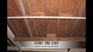 <h5>The Ferry Stop</h5><p>Hit hard by Hurricane Isaac, The Ferry Stop gets spray foam seal of protection </p>