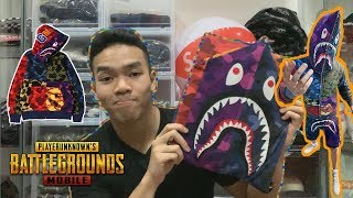 Video REVIEW JAKET PUBG X BAPE | #HYPEMANIA MP3, 3GP, MP4, WEBM, AVI, FLV Oktober 2018