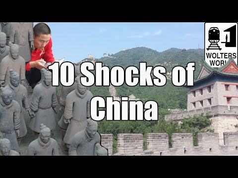 China - http://www.woltersworld.com From kids pooping on the street, to eating dog, to dealing with crazy lines, there are many things that may shock tourists when t...