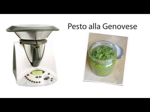 video ricetta: bimby - pesto alla genovese