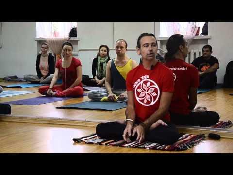 Геннадий Болгов. Работа с животом. 3 часть. Уддияна бандха (вакуумное втягивание живота).