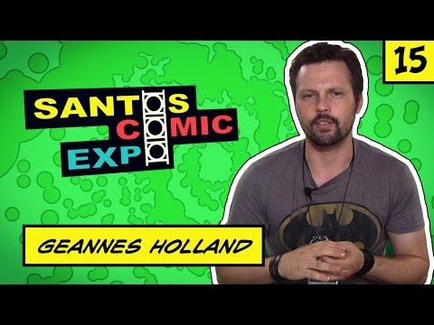 E15 GEANNES HOLLAND   SANTOS COMIC EXPO 2014