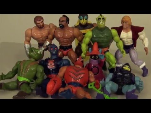 Irate the 80's - He Man MOTU Action Figures (Ep 6 History & Review of Toys & Cartoon)