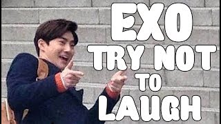 Download Video EXO - TRY NOT TO LAUGH CHALLENGE  #2 MP3 3GP MP4