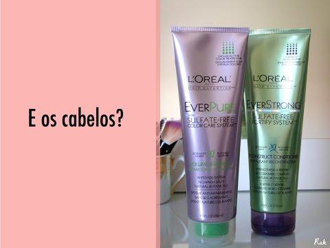 """Video: Cabelos – Linha """"EVER"""" de L'Oréal"""