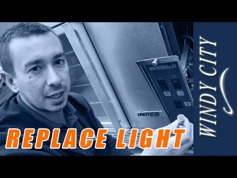 How to replace indicator light on Imperial Convection oven Windy City Restaurant Repair Tips