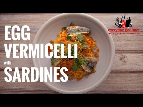 San Remo Egg Vermicelli with Sardines | Everyday Gourmet S6 E53
