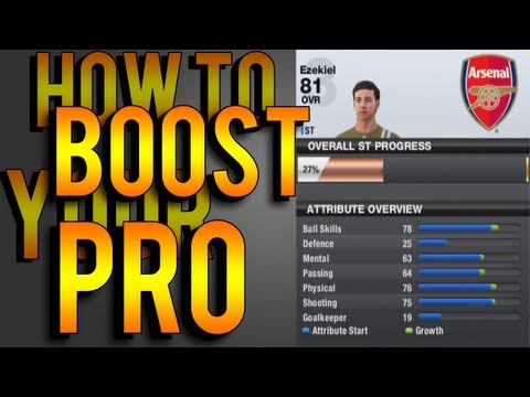 How To Boost Your Pro - Short Video showing people how to use EA token/points to buy in game boosts for their pro so that you can play a lot better in online pro club seasons. Yes, ...