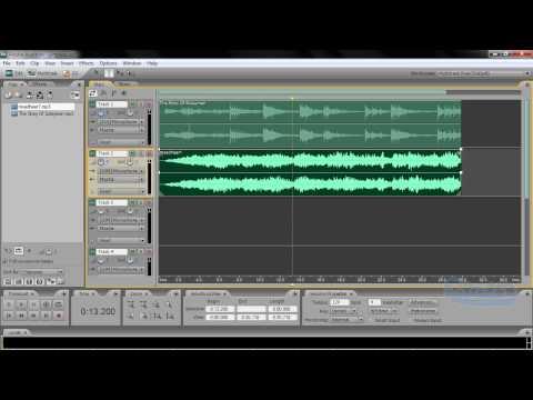 audition mixing | دمج المقاطع الصوتية مع بعضها