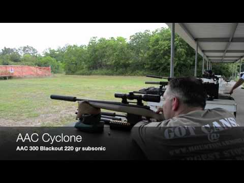 Houston Armory 300 Blackout Suppressor Testing