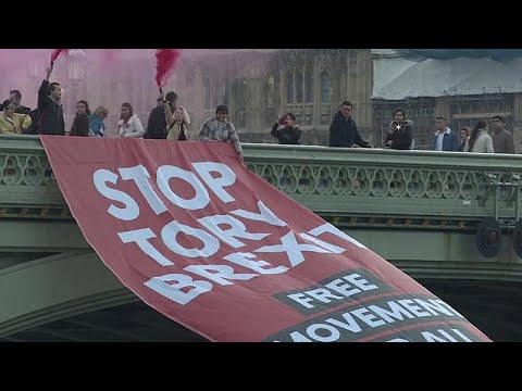 Διαδηλώσεις στο Λονδίνο για να σταματήσει το Brexit