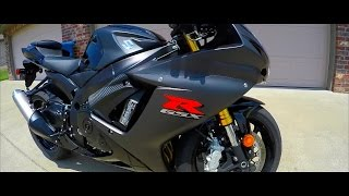 2. MY NEW BIKE | First Time Riding | Black 2016 Suzuki GSX-R 750 L6