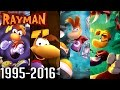 Rayman All Intros 1995 2016 ps4 Wii U Xbox Ps2 Ps1 Gc N