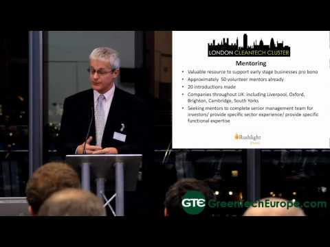 London Cleantech Cluster: Update - 21st November 2013