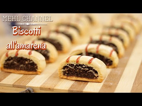 ricetta biscotti all'amarena - ricetta