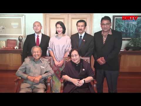 Mahathir Mohamad Akan Menerima Star of Soekarno