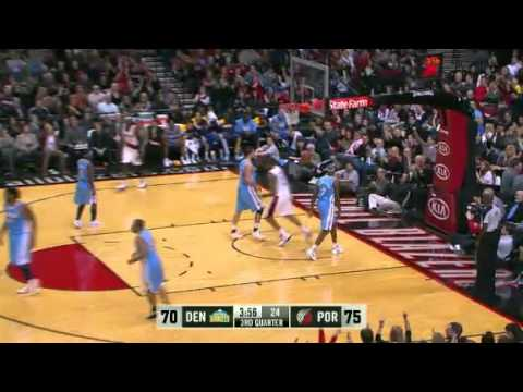 Marcus Camby's Beautiful Touch Pass