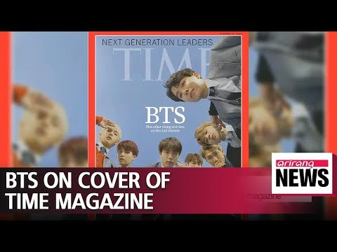 Time Magazine Global Edition with BTS on cover in high demand