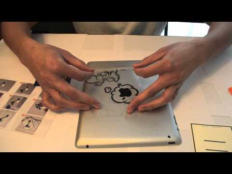 iPad 2 decal – Yoshi – Application Instruction – BuyGadgetHere.com