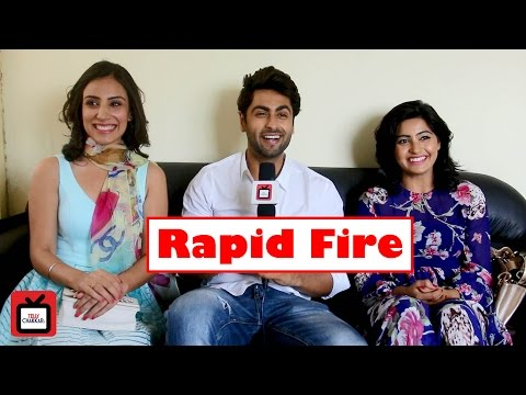 Fun 'rapid fire' with Agniphera cast | Exclusive |