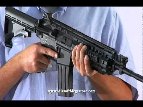 Airsoft Megastore Review! Dboys M4 S-system Ris Full Metal Aeg Rifle Airsoft Gun