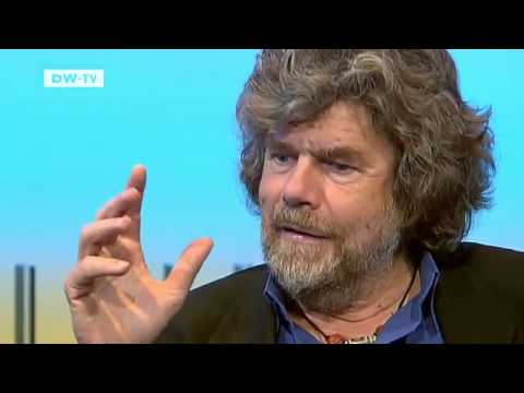 Reinhold Messner, Extreme Mountaineer and Author | Talking Germany (видео)