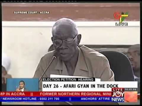 Election Petition Hearing on Joy News  - Day 26 (3-6-13)