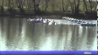2015 Belgrade k-2 500m M National trials of European Championships