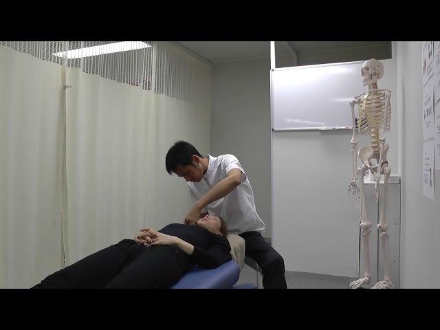 【施術動画】小顔矯正 6 骨格を矯正する
