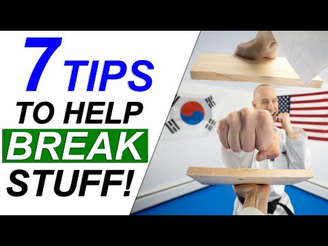 7 Tips on How to Break Boards, Blocks or Anything for Martial Arts