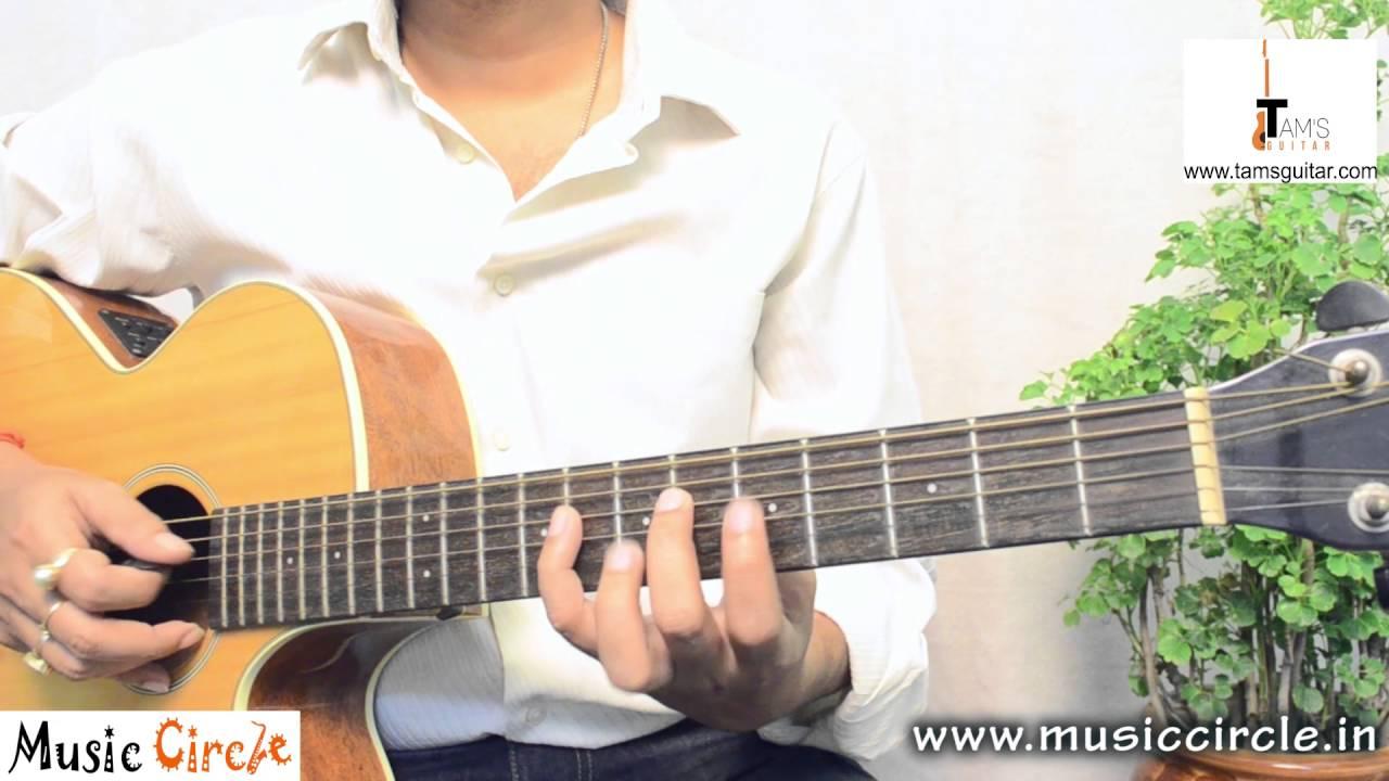 Tum hi ho (Ashiqui 2 ) guitar lesson for beginners part I   melody tabs   Tamsguitar