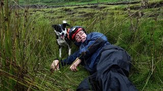 Alan Hinkes OBE rescued by Cassie the dog and Swaledale MRT by teamBMC
