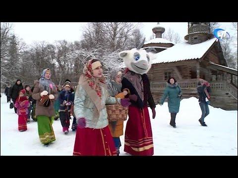 В Музее деревянного зодчества «Витославлицы» прошли «Деревенские гулянья»
