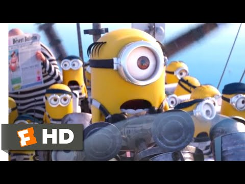 Despicable Me 3 (2017) - Bubblegum Rescue Scene (9/10) | Movieclips