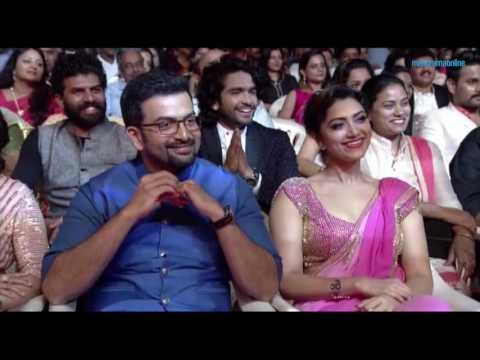 VANITHA FILM AWARDS 2016- PART 13- Jayasurya (THE SPECIAL PERFORMANCE AWARD WINNER) Funny Speech -