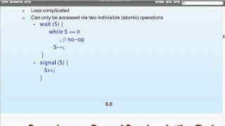 Operating Systems - Lecture 9b