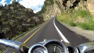 3. Canyon ride with 2010 Harley V-Rod Muscle