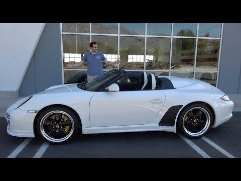 The 2011 Porsche 911 Speedster Is the Weird $300,000 Porsche You Forgot About