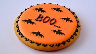 Печенье на Halloween ☆ Halloween cookies